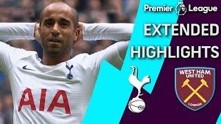 West Ham v. Tottenham   PREMIER LEAGUE EXTENDED HIGHLIGHTS   4/27/19   NBC Sports