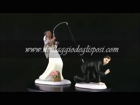 Video - La sposa pesca lo sposo - per coppie multietniche