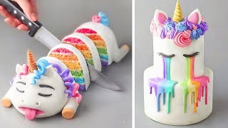 How To Make Fondant Cake Recipe   Top 10 Easy Cake Decorating Ideas Compilation   Yummy Cookies