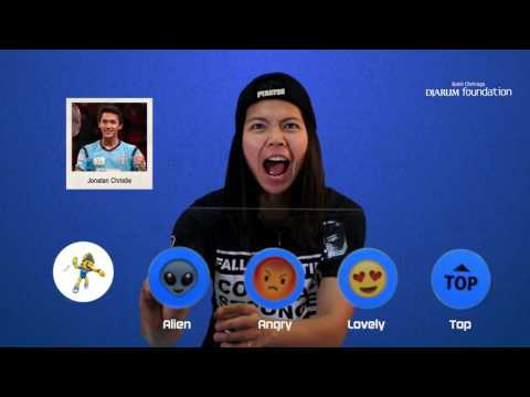 Greysia Polii - Emoji Players At BCA Indonesia Open 2017