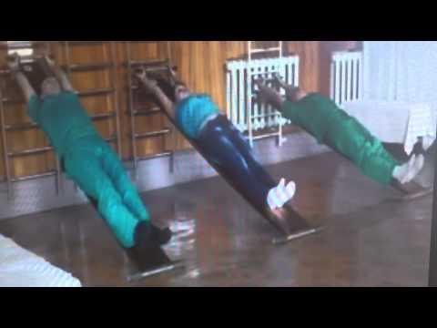 Комплексы упражнений для профилактики нарушений осанки