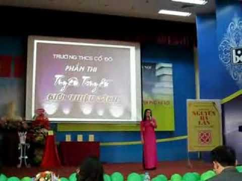 giải Ba cấp thành phố thi  nhân viên thư viện giỏi ( Trường THCS Cổ Đô)