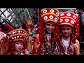 Girls are worshipped as goddesses in Nepal - Video