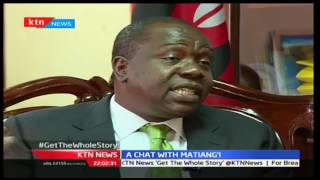 KTN Prime: A chat with Kenya's Education reformer Dr. Fred Matiang'i on matters Education, 21/12/16