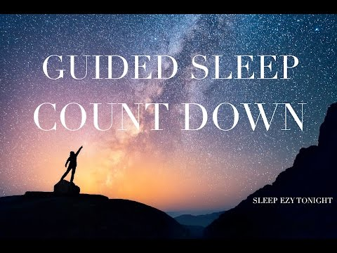 Guided Sleep Countdown ☯ Meditation for Anxiety and Sleep