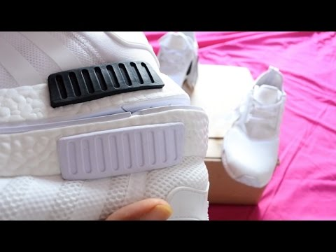 How to spot FAKE ADIDAS NMDs!! | FAKE VS REAL   *AUDIO ISSUES FIXED*