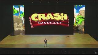 Crash Bandicoot E3 2016 Reveal
