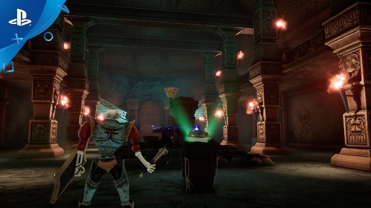 Detrás de Escenas de la Próxima Resurrección de MediEvil en PS4