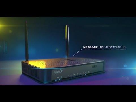 NETGEAR LTE Wireless Internet Mobile Hotspot Gateway LG6100D Product Tour