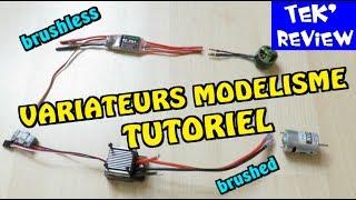 VARIATEUR BRUSHED - REVIEW + TUTO DEBUTANT - POUR MOTEURS CHARBON