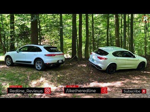 The 2019 Alfa Romeo Stelvio QV & Porsche Macan Are Sports Cars Disguised as SUV's