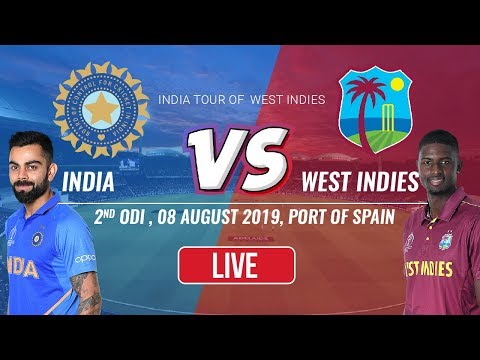 Live: West Indies vs India, 2nd ODI - Live Cricket Score, Hindi Commentary