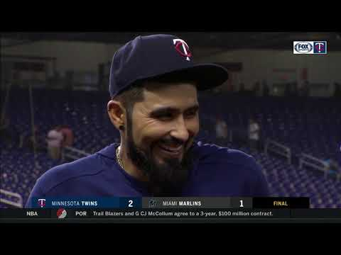 Sergio Romo on his Twins debut
