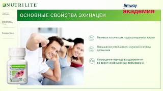 Юлия Бастрыгина: Влияние эхинацеи на организм человека #nutrilite #zdorovie