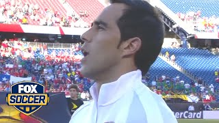 No pregame issue with the Selección Chilena national anthem tonight by FOX Soccer