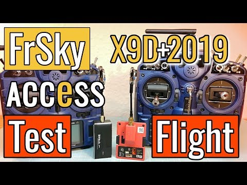 frsky-taranis-x9d-2019--r9m-2019-ota-access--first-test-flight