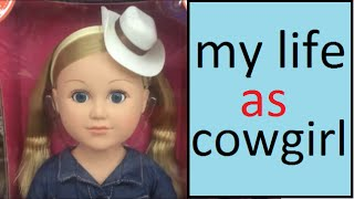 "My Life as Cowgirl Doll 18"" Inch Dolls Walmart Collection Videos Review Tutu for Kids Children Girls"