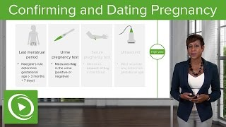 Antenatal Care: Confirming and Dating Pregnancy – Obstetrics | Lecturio