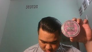 Review Pomade : Reuzel Pink - Grease Heavy Hold Pomade