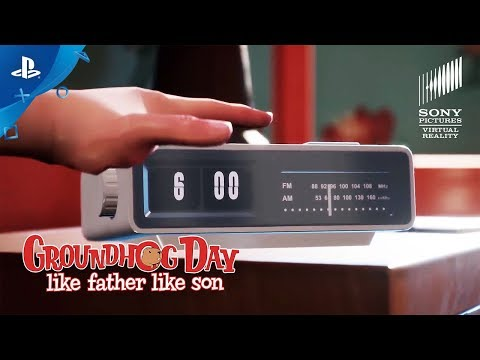 Groundhog Day: Like Father Like Son - Launch Trailer | PS VR thumbnail
