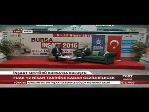 Tuyap Bursa Bursa Büyükşehir Belediye Başkanı Recep Altepe Yaprak Medya Özel Yayını