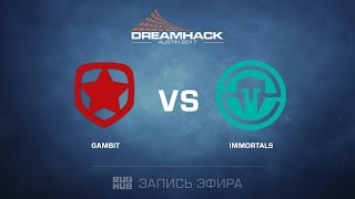 Gambit vs. Immortals - Dreamhack Austin - Final - map2 - de_inferno [yxo, Enkanis]