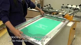 Hirutube - Cómo imprimir camisetas en serigrafía