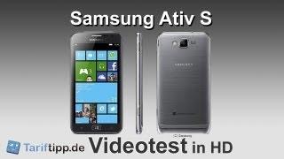 Samsung Ativ S | Test in HD (deutsch)