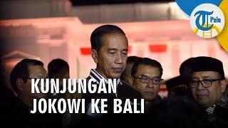 Kunjungan Kerja ke Bali, Jokowi Hadiri Muktamar PKB