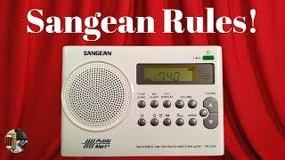 Sangean PR-D9W AM FM Stereo WX Emergency Alert Portable Radio Review