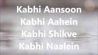 Tadap Tadap Ke Lyrics - YouTube