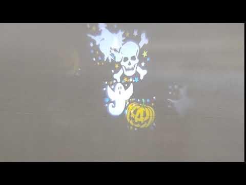 Veli Line Projektor - Halloween motiv
