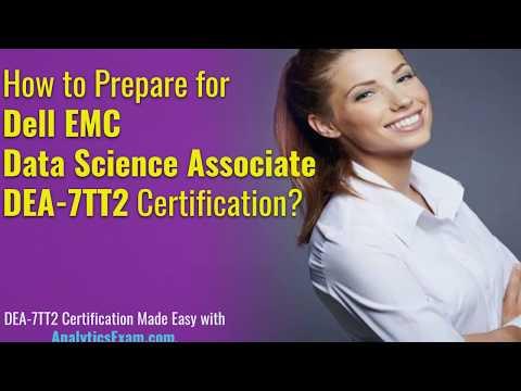 Get Start Your Preparation for Dell EMC Data Science Associate ...