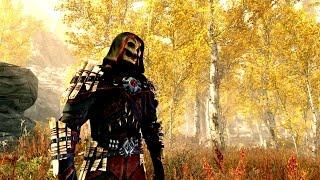 Skyrim mod: Экипировка клана Теней / The Shadow Scale Set