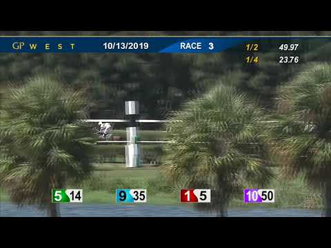 Gulfstream Park West October 13, 2019 Race 3
