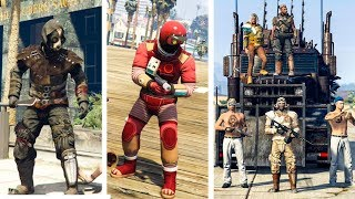 GTA Online - 10+ Awesome Looking Outfits (Low Budget Iron Man, Mad Max, Plague Doctor & MORE)