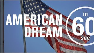 The American dream: Is it still alive? | IN 60 SECONDS