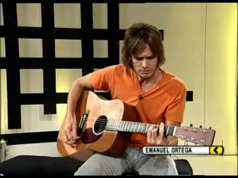 Emanuel Ortega video Ajena - Estudio CM 2009