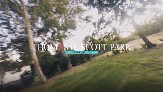  MODESTO  Thomas B. Scott Park - Sunset Cinematic  FPV FREESTYLE 