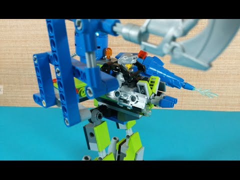 Vidéo LEGO Power Miners 8189 : Le robot Magma