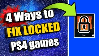4 Ways to UNLOCK your LOCKED PS4 GAMES & APPS (PS4 Tutorial)