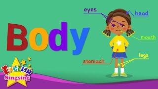 Kids từ vựng - Body - các bộ phận của cơ thể - Tìm hiểu tiếng Anh cho trẻ em