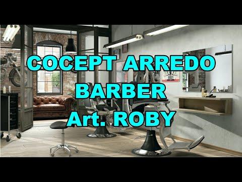 Composizione arredo barber