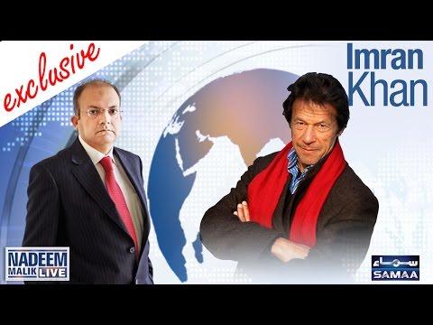 Imran Khan Exclusive | Nadeem Malik Live | SAMAA TV | 27 April 2017