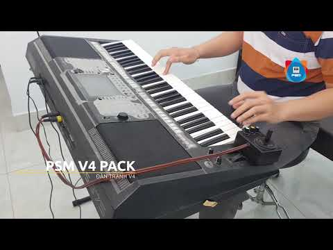 Demo Bộ Sampler PSM V4 cho Yamaha Genos, Tyros 5, SX, S97x, S77x