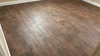 Installing Wood Look Ceramic Tile
