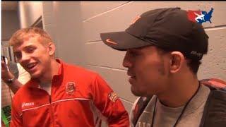 Kyle Dake and Jordan Oliver discuss Olympic wrestling