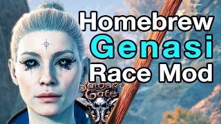 Genasi Race Mod