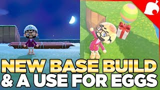 1.1.2 Update, My New Base Build BEGINS & A Use for Bunny Eggs in Animal Crossing new Horizons