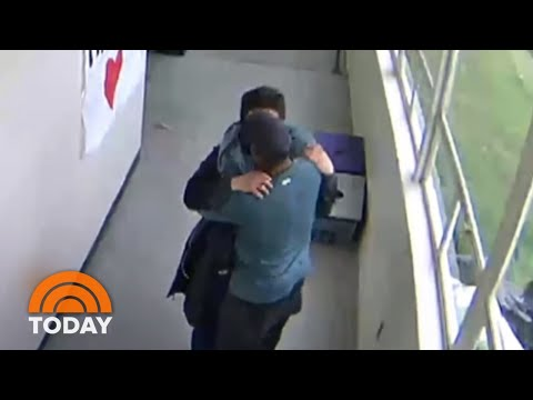 Coach Disarms Student, Then Hugs Him: Caught On Camera | TODAY